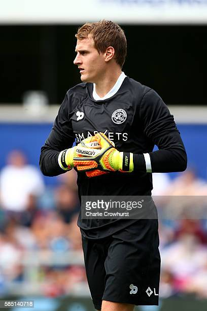 Alex Smithies of QPR during the pre season friendly match between Queens Park Rangers and Watford at Loftus Road on July 30 2016 in London England
