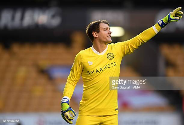 Alex Smithies of Queens Park Rangers during the Sky Bet Championship match between Wolverhampton Wanderers and Queens Park Rangers at Molineux on...