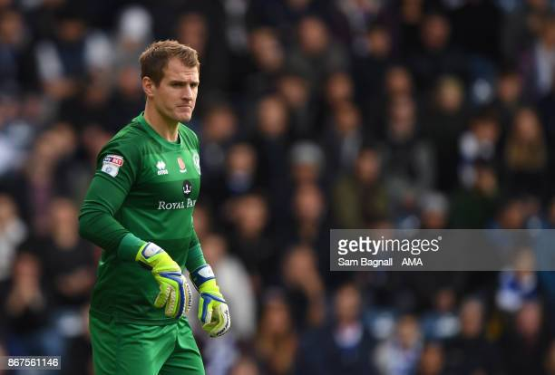 Alex Smithies of Queens Park Rangers during the Sky Bet Championship match between Queens Park Rangers and Wolverhampton at Loftus Road on October 28...