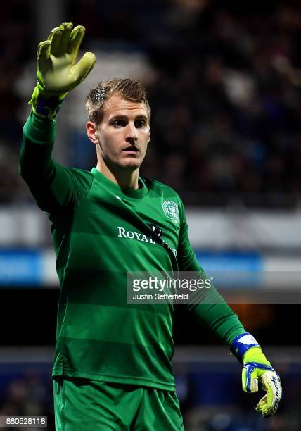 Alex Smithies of Queens Park Rangers during the Sky Bet Championship match between Queens Park Rangers and Brentford at Loftus Road on November 27...