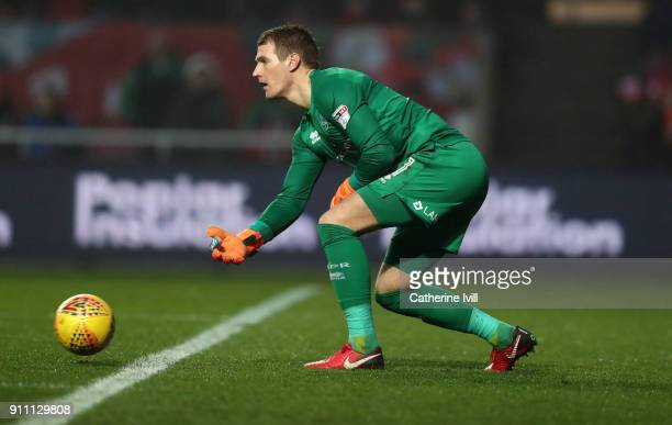 Alex Smithies of Queens Park Rangers during the Sky Bet Championship match between Bristol City and Queens Park Rangers at Ashton Gate on January 27...