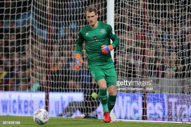 Alex Smithies of Queens Park Rangers during the Sky Bet Championship match between Aston Villa and Queens Park Rangers at Villa Park on March 13 2018...