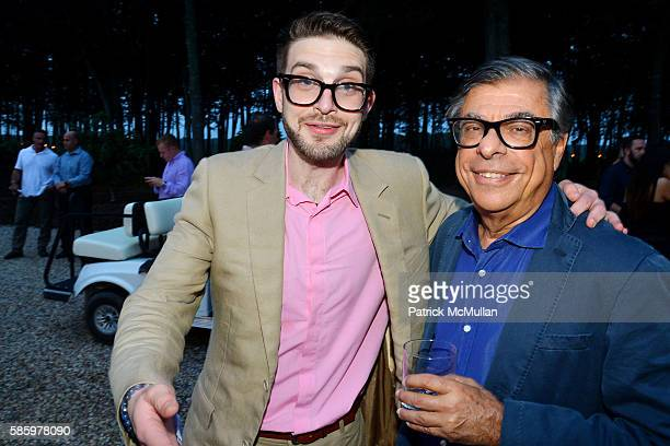 Alex Soros and Bob Colacello attend The 23rd Annual Watermill Center Summer Benefit Auction at The Watermill Center on July 30 2016 in Water Mill NY