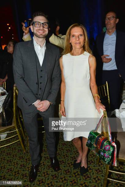 Alex Soros and Sandra Brant attend The Gordon Parks Foundation Awards Dinner and Auction at Cipriani 42nd Street NYC on June 4 2019 in New York City