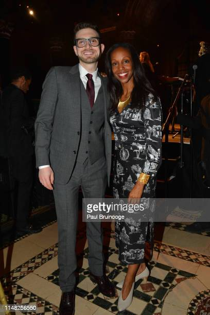 Alex Soros and Sarah Lewis attend The Gordon Parks Foundation Awards Dinner and Auction at Cipriani 42nd Street NYC on June 4 2019 in New York City