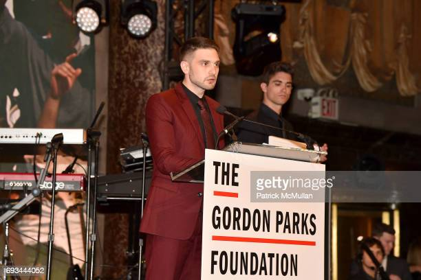 Alex Soros attends the Gordon Parks Foundation Awards Dinner Auction at Cipriani 42nd Street on June 6 2017 in New York City