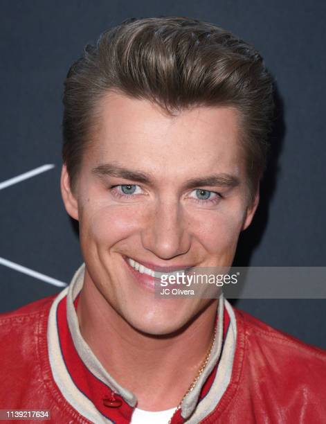 Alex Sparrow attends Matt Sarafa and Jonathan Marc Stein's new 'Rich' clothing line release and fashion show on March 29 2019 in Los Angeles...