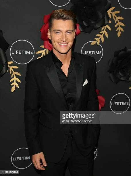 Alex Sparrow attends the Lifetime hosts AntiValentine's Bash for Premieres of 'UnREAL' and 'Mary Kills People' on February 13 2018 in West Hollywood...