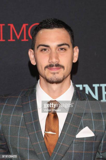 Alex Speitzer attends the tv series premiere 'Enemigo Intimo' at Foro Masaryk on February 15 2018 in Mexico City Mexico