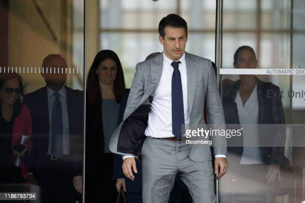 Alex Spiro attorney to Elon Musk departs federal court in Los Angeles California US on Friday Dec 6 2019 Elon Muskbeat back a defamation claim from...