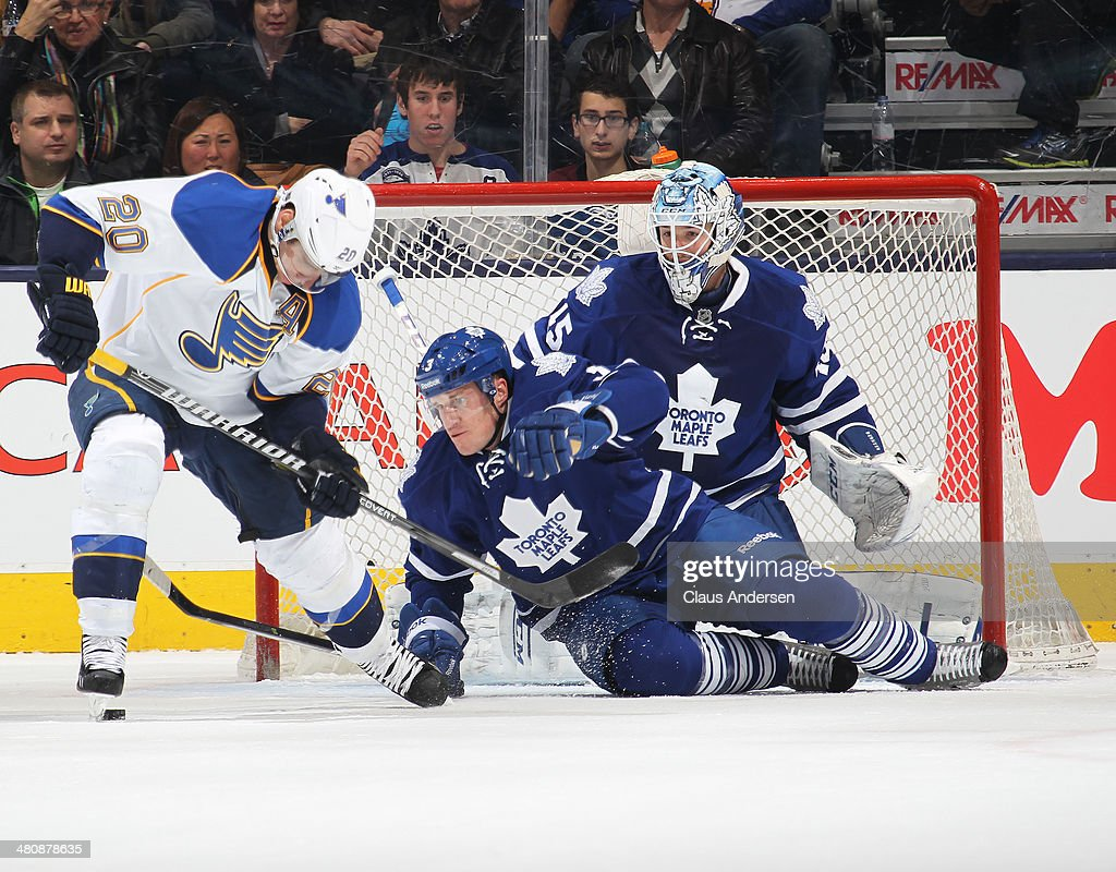 St. Louis Blues v Toronto Maple Leafs : News Photo
