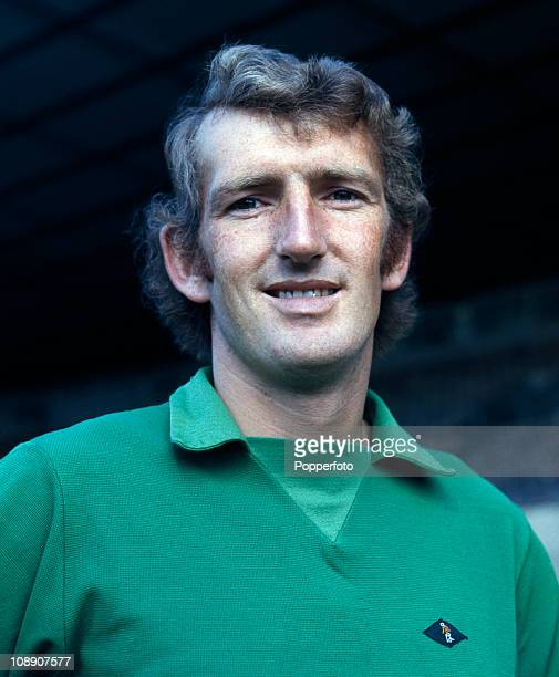 Alex Stepney of Manchester United at Old Trafford Manchester in August 1971