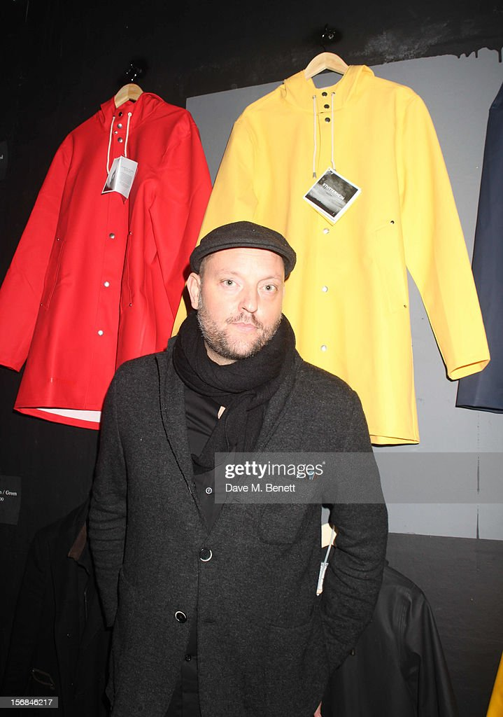 Stutterheim Raincoats Pop Up Shop Launch - Inside : News Photo