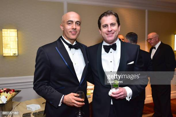 Alex Tahsili and Juan Larrain attend the New York City Police Foundation 2017 Gala at Sheraton New York on May 18 2017 in New York City
