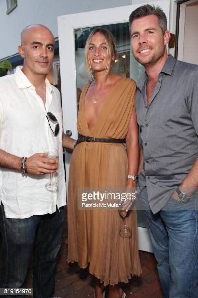 Alex Tahsili Jeanann Williiams and Toby McLennan attend CHLOE Summer Party in East Hampton at Chloe Hamptons on July 17 2010 in East Hampton NY