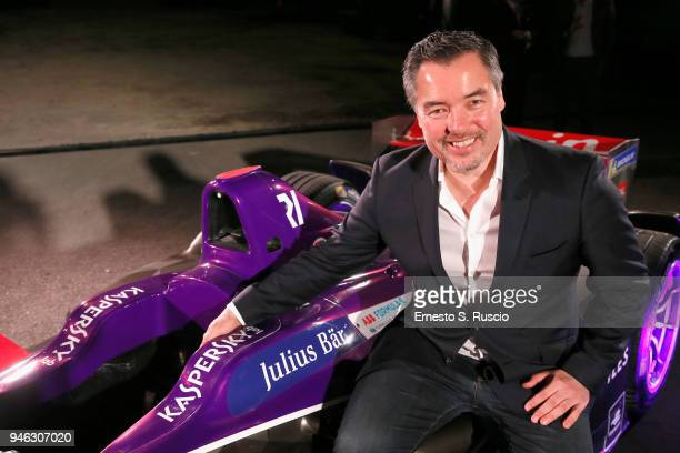 Alex Tai attends Racing Goes Green an event organized by Kaspersky Lab Official Sponsor of DS Virgin Racing Team to celebrate the Formula E race in...