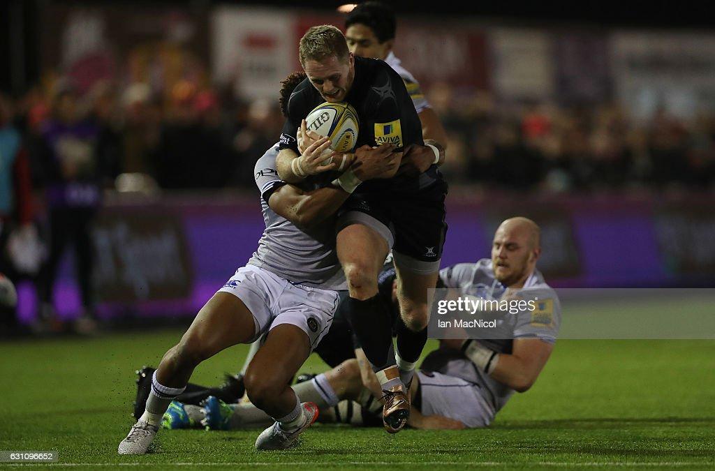 Newcastle Falcons v Bath Rugby - Aviva Premiership : ニュース写真