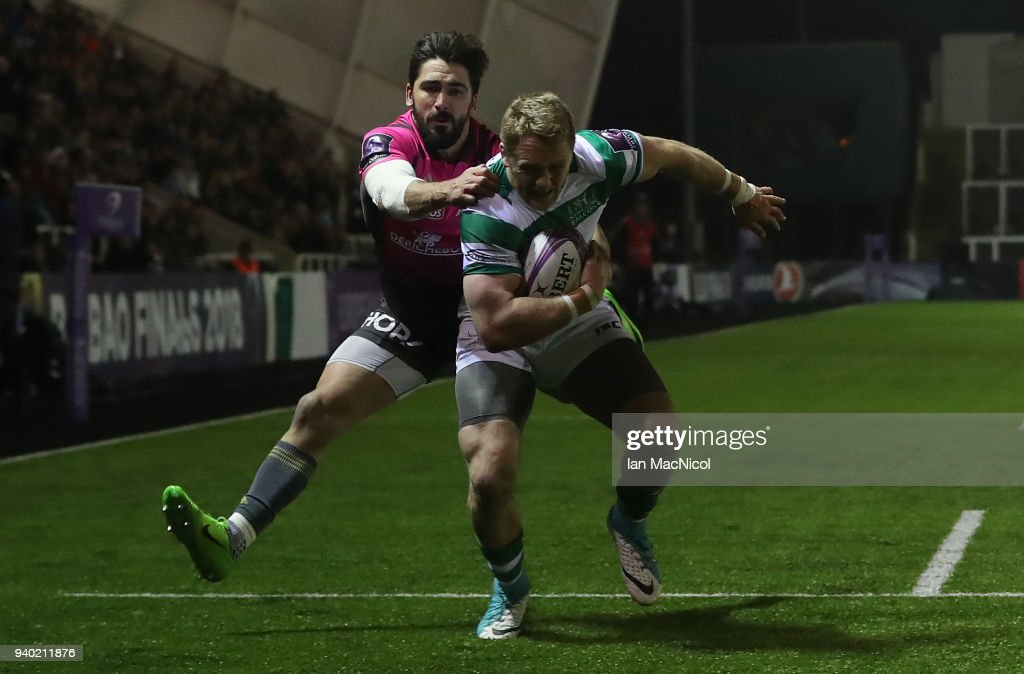 Newcastle Falcons v CA Brive - European Rugby Challenge Cup: Quarter-Final