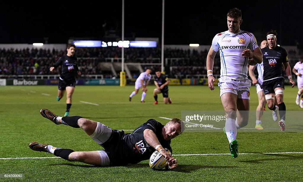 Newcastle Falcons v Exeter Chiefs - Aviva Premiership