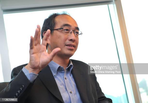 Alex Tam Wingyiu managing director at data centre operator Equinix Wan Chai 20JUN14