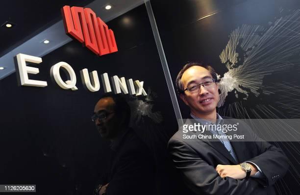 Alex Tam Wingyiu managing director at data centre operator Equinix poses for a photograph Wan Chai 20JUN14