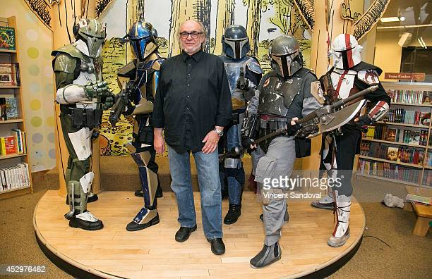 """Alex Tavoularis, storyboard artist for """"Star Wars: Episode IV - A New Hope,"""" meets fans while promoting the new book, """"Star Wars"""" Storyboards at..."""