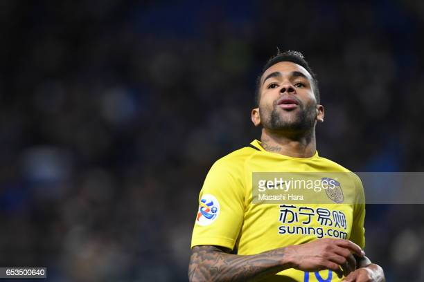 Alex Teixeira of Jiangsu FC looks on during the AFC Champions League Group H match between Gamba Osaka and Jiangsu FC at Suita City Football Stadium...