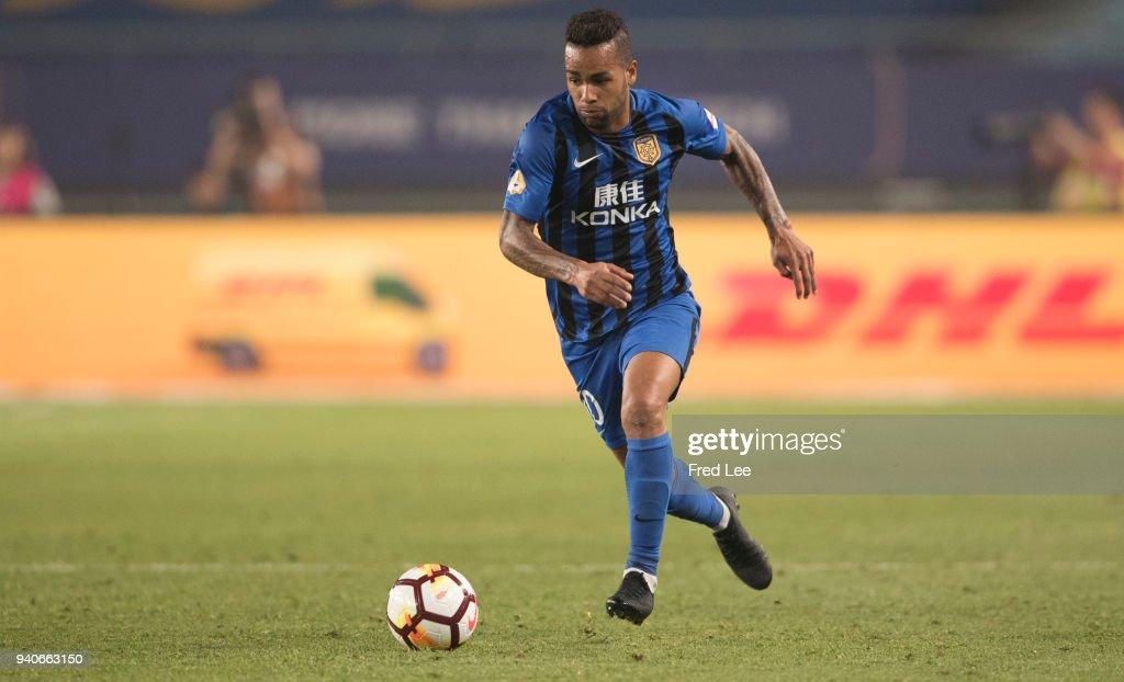 Jiangsu Suning v Tianjin Teda - 2018 Chinese Super League : News Photo