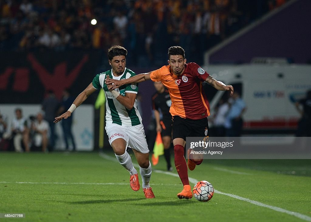 Galatasaray vs Bursaspor - Turkish Super Cup : News Photo