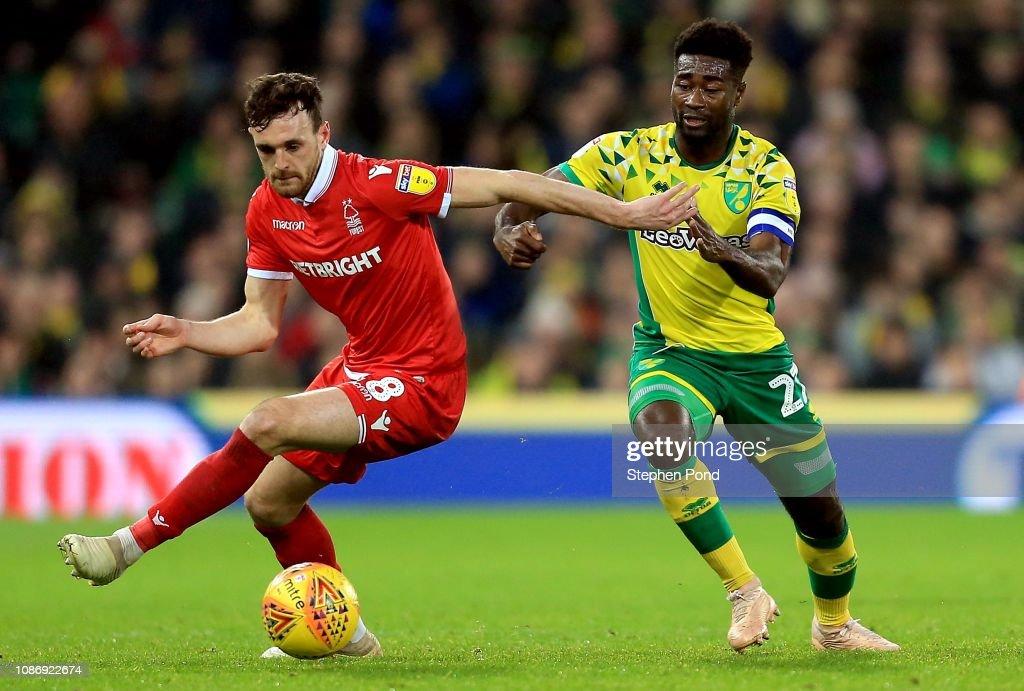 Norwich City v Nottingham Forest - Sky Bet Championship : News Photo