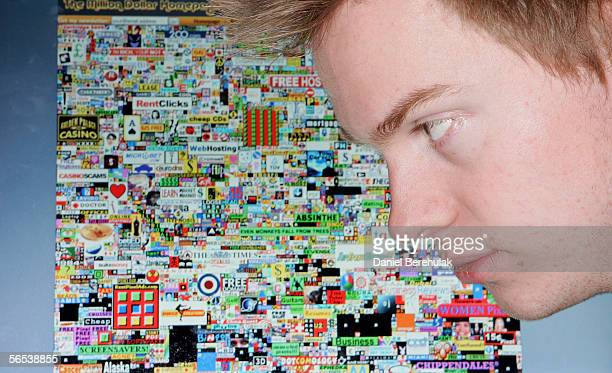 Alex Tew poses for photograph during a photo session on December 07 2005 in Swindon England 21 year old British Student Alex Tew has generated over...