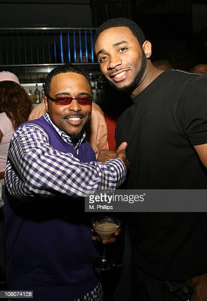 Alex Thomas and Eric Lane during Show Magazine Party Inside at Vine Street Lounge in Los Angeles california United States