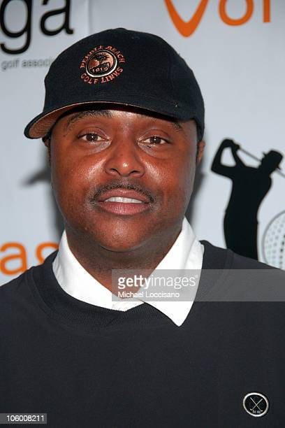 Alex Thomas during Entertainmamt Golf Association's 4th Annual Celebrity Golf Tournament at Minisceongo Golf Club in Pomona, New York, United States.