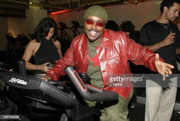 Alex Thomas during Opening of the Los Angeles Equinox Fitness Club at Equinox Fitness Club in Hollywood California United States