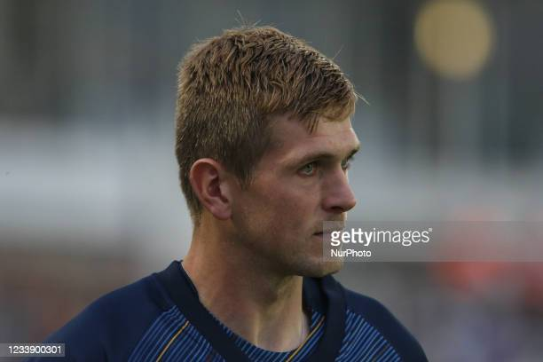 Alex Thomson of Derbyshire during the Vitality Blast T20 match between Durham County Cricket Club and Derbyshire County Cricket Club at Emirates...