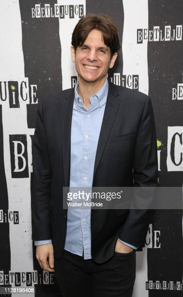 Alex Timbers attends Broadway's 'Beetlejuice' First Look Photocall at Subculture on February 28 2019 in New York City