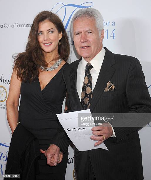 Alex Trebek and Jean Trebek arrive at the 19th Annual Jonsson Cancer Center Foundation's Taste For A Cure at Regent Beverly Wilshire Hotel on April...