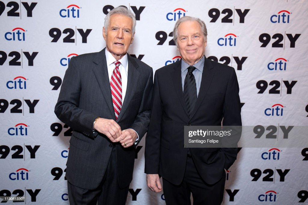 NY: Alex Trebek And Michael McKean In Conversation
