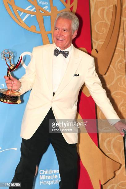 Alex Trebek at the 38th Annual Daytime Entertainment Emmy Awards for Soap Opera Weekly Press Room at Hilton Hotel And Casino Resort on June 19 2011...