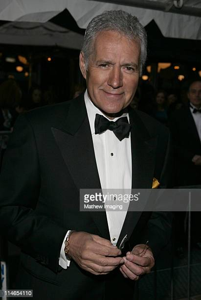 Alex Trebek during 32nd Annual Daytime Emmy Awards Arrivals at Radio City Music Hall in New York City New York United States