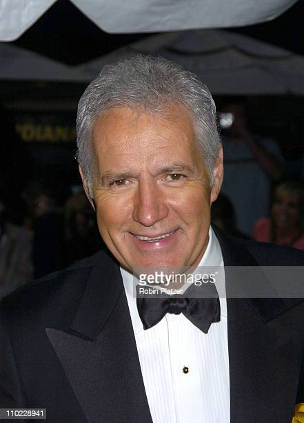 Alex Trebek during 32nd Annual Daytime Emmy Awards Outside Arrivals at Radio City Music Hall in New York City New York United States