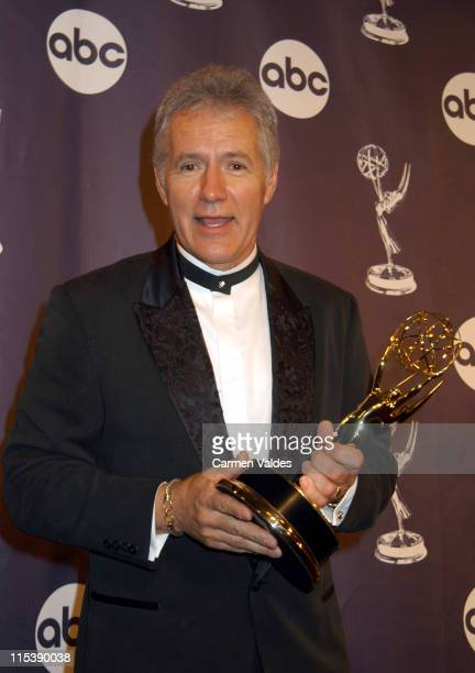 Alex Trebek during The 30th Annual Daytime Emmy Awards Pressroom at Radio City Music Hall in New York City New York United States