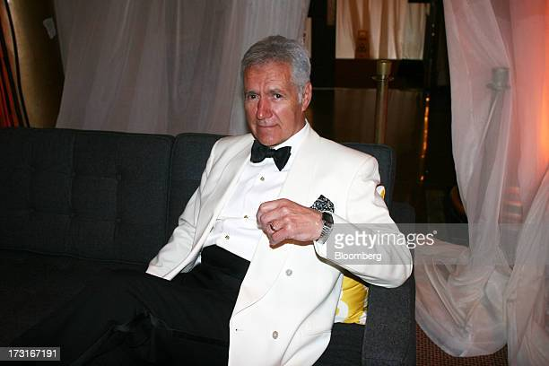 Alex Trebek host of 'Jeopardy' attends a dinner at the National Building Museum in Washington DC US on Thursday June 13 2013 The occasion was the...