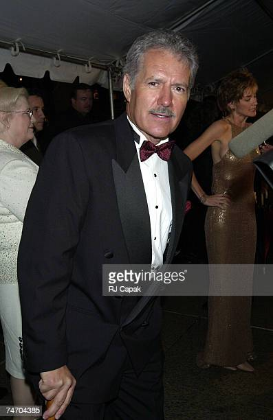 Alex Trebek of Game Show, Jeopardy at the Radio City Music Hall in New York City, New York