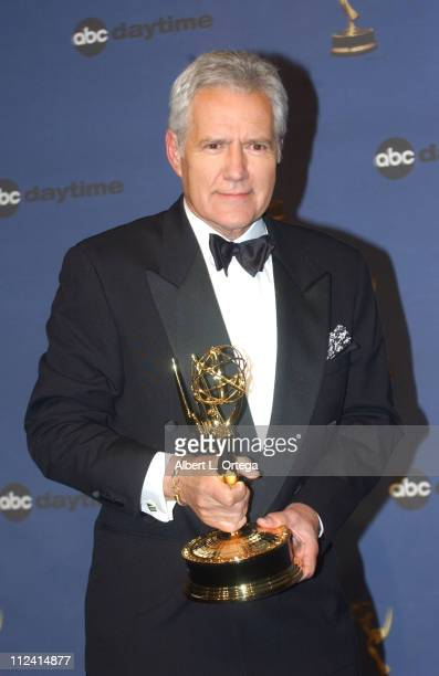 Alex Trebek winner of Outstanding Game Show Host for 'Jeopardy'