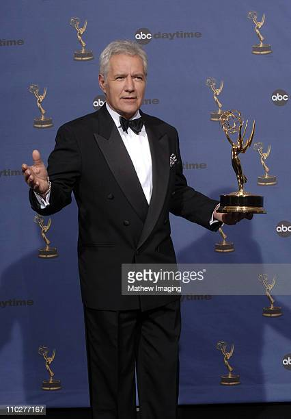 Alex Trebek winner Outstanding Game Show Host Jeopardy