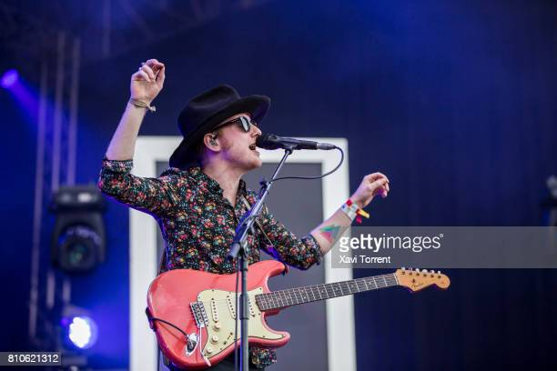 Alex Trimble of Two Door Cinema Club performs in concert during day 1 of Festival Cruilla on July 7 2017 in Barcelona Spain