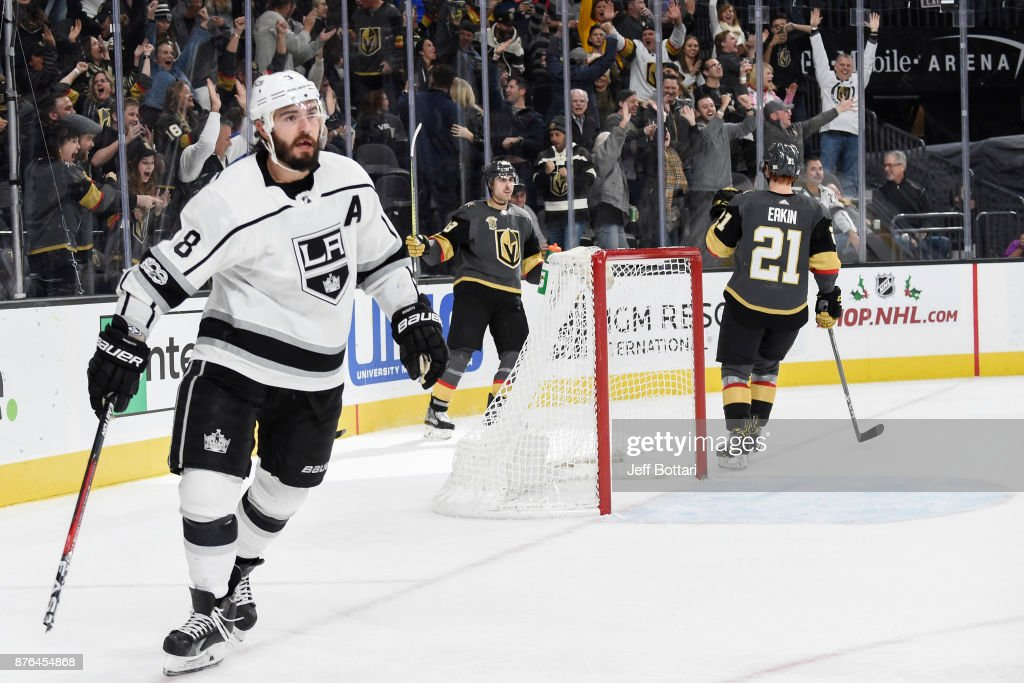 Los Angeles Kings v Vegas Golden Knights