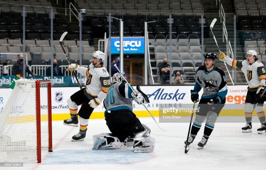 Vegas Golden Knights v San Jose Sharks : News Photo
