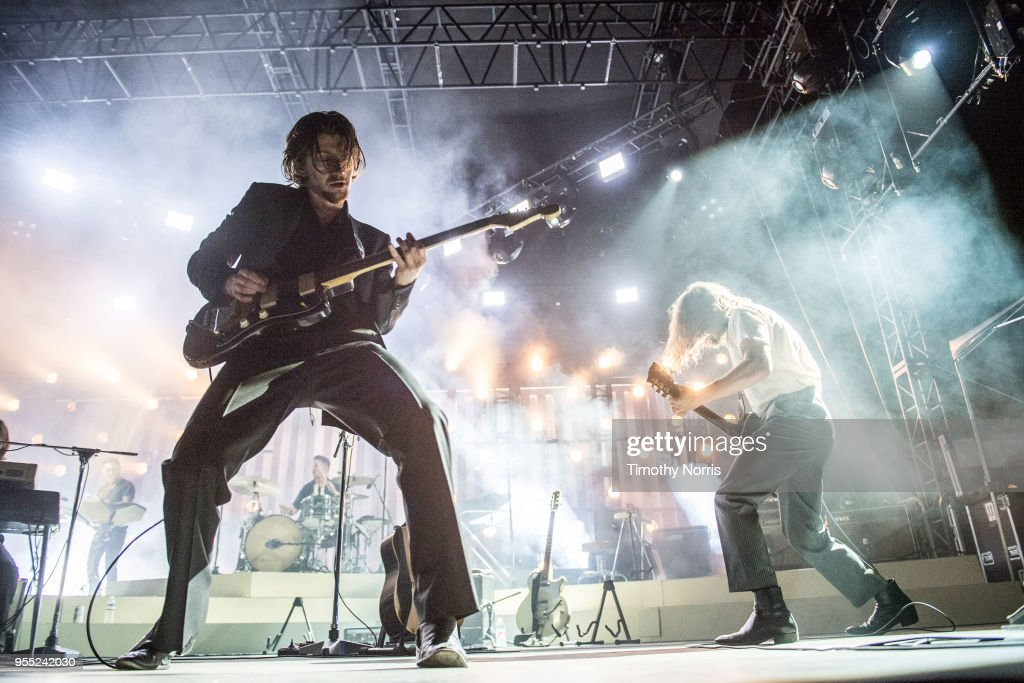 Arctic Monkeys Perform At Hollywood Forever